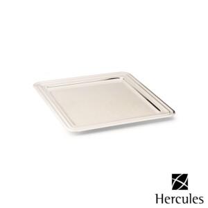Bandeja Quadrada 28cm Hercules de Prata