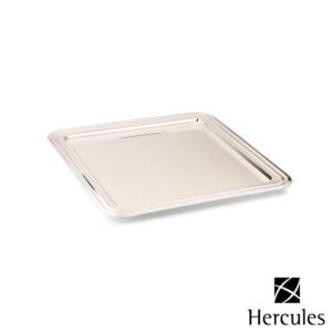 Bandeja Quadrada 34cm Hercules de Prata