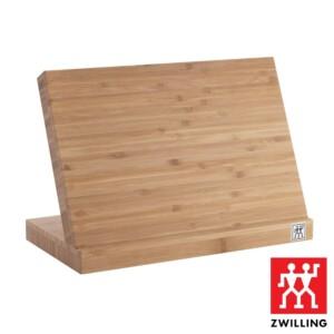 Bloco Magnético para Facas (Vazio) Zwilling de Bambu