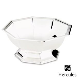 Bowl Oitavado de Prata Ibiza com Pés diam.26,5x11cm Hercules