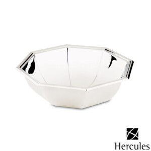 Bowl Oitavado de Prata Ibiza diam.22,5x6,5 Hercules