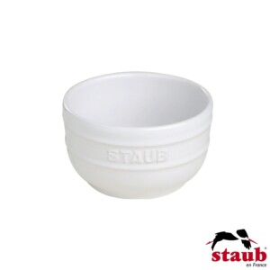Cj. 2 Ramequim 8cm Branco Staub Ceramic