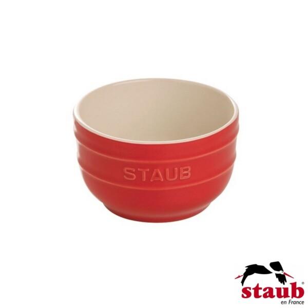 Cj. 2 Ramequim 8cm Cereja Staub Ceramic