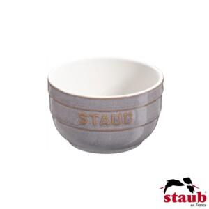 Cj. 2 Ramequim 8cm Cinza Anciant Staub Ceramic