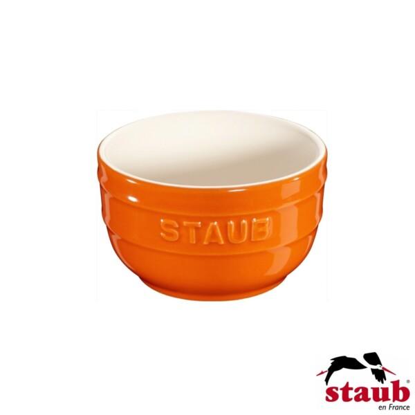Cj. 2 Ramequim 8cm Laranja Staub Ceramic