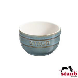 Cj. 2 Ramequim 8cm Turquesa Anciant Staub Ceramic