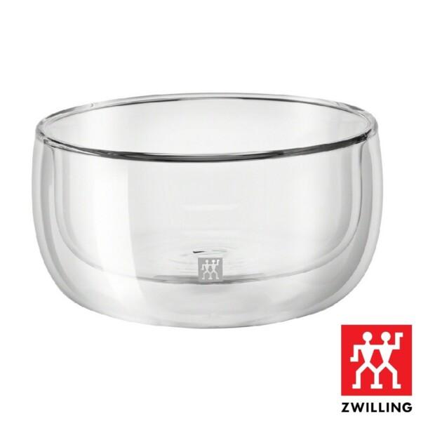 Cj. 2 Taças para Sobremesa 280ml Parede Dupla Zwilling Sorrento de Vidro