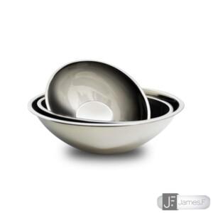 Cj. 3 Bowls Ovais James.F de Aço Inox