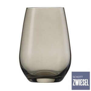 Cj. 6 Copos para Água e Suco 385ml Schott Zwiesel Vina Spots 385ml de Cristal Cinza