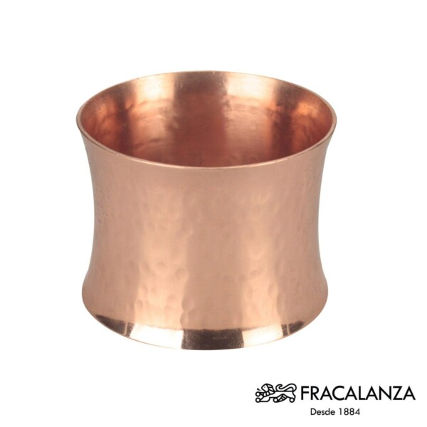 Cj. 6 Porta Guardanapos Cobre Fracalanza 6cm de Aço Inox Cobre