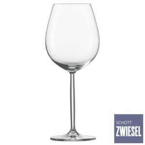 Cj. 6 Taças para Água e Vinho Tinto 613ml Schott Zwiesel Diva de Cristal