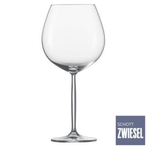 Cj. 6 Taças para Borgonha Pokal 839ml Schott Zwiesel Diva de Cristal