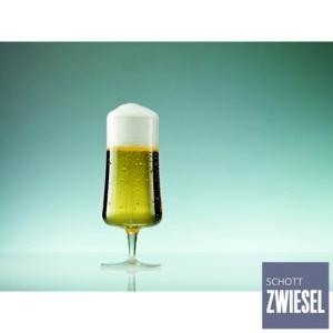 Cj. 6 Taças para Cerveja Pilsner 283ml Schott Zwiesel Beer Basic de Cristal