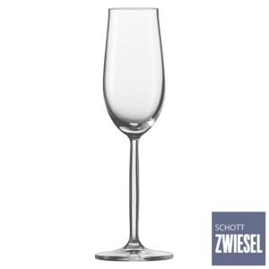 Cj. 6 Taças para Champagne (Flute) 109ml Schott Zwiesel Diva de Cristal
