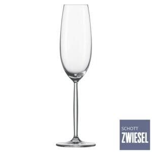 Cj. 6 Taças para Champagne (Flute) 219ml Schott Zwiesel Diva de Cristal