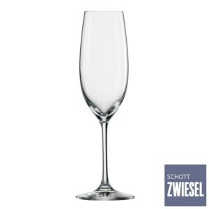 Cj. 6 Taças para Champagne (Flute) 228ml Schott Zwiesel Ivento de Cristal