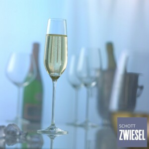 Cj. 6 Taças para Champagne (Flute) 240ml Schott Zwiesel Fortissimo de Cristal