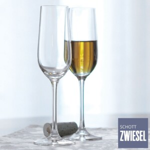 Cj. 6 Taças para Champagne (Flute) 281ml Schott Zwiesel Bar Special de Cristal