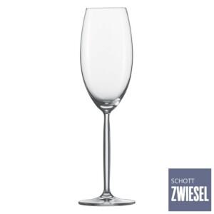 Cj. 6 Taças para Champagne (Flute) 293ml Schott Zwiesel Diva de Cristal