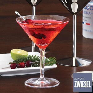 Cj. 6 Taças para Martini 182ml Schott Zwiesel Basic Bar Selection de Cristal