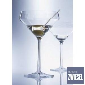 Cj. 6 Taças para Martini 226ml Schott Zwiesel Basic Bar Selection de Cristal