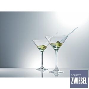 Cj. 6 Taças para Martini 270ml Schott Zwiesel Classico de Cristal
