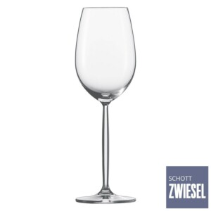 Cj. 6 Taças para Vinho Branco 302ml Schott Zwiesel Diva de Cristal