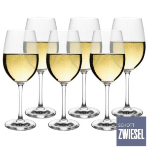 Cj. 6 Taças para Vinho Branco 349ml Schott Zwiesel Ivento de Cristal