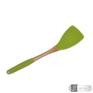 Espátula 28cm James.F de Nylon e Madeira Verde