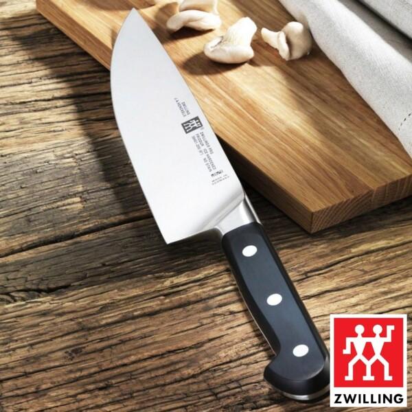 """Faca Chef 8"""" Zwilling Pro de Aço Inox"""