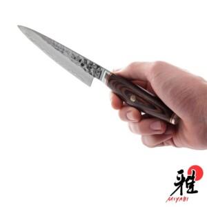 Faca Shotoh 130mm Miyabi Artisian 6000MCT de Aço Inox