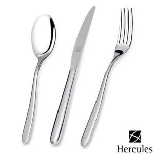 Faqueiro Hercules 130 Peças Luna sem Estojo