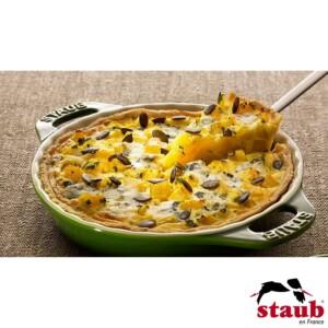 Fôrma para Torta 24cm Verde Basil Staub Ceramic
