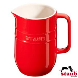 Jarra Staub Ceramic 1 litro Cereja