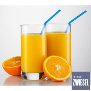 Cj. 6 Copos para Água e Suco 255ml Schott Zwiesel Convention de Cristal