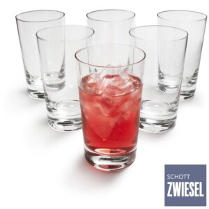 Cj. 6 Copos para Cocktail Allround 334ml Schott Zwiesel Basic Bar Selection de Cristal