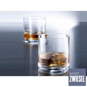 Cj. 6 Copos para Whisky 400ml Schott Zwiesel Iceberg de Cristal