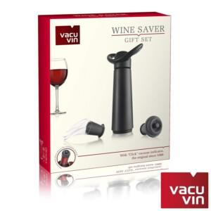 Kit 3 Peças para Vinho Etna Vacu Vin