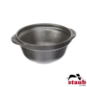 Mini Bowl Redondo 300ml Staub Minis de Ferro Fundido Preta