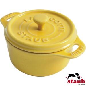 Mini Caçarola Redonda 10cm Limão Staub Ceramic
