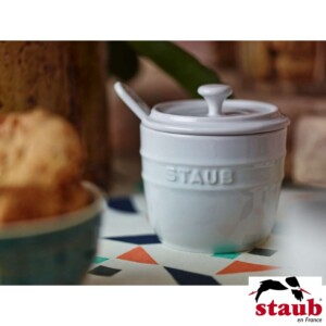 Porta Açúcar Staub Ceramic 250ml Branca