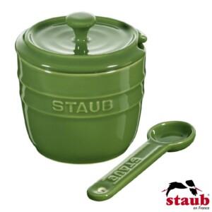 Porta Açúcar Staub Ceramic 250ml Verde Basil