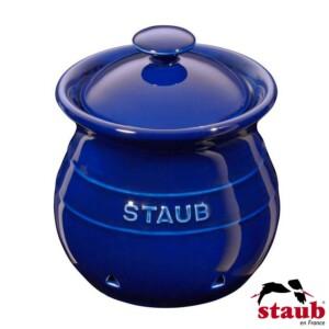 Porta Alho Staub Ceramic 500ml Azul Marinho