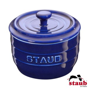 Porta Sal Staub Ceramic 250ml Azul Marinho