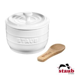 Porta Sal Staub Ceramic 250ml Branca