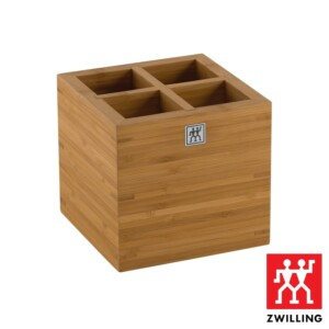 Porta Utensílios Grande Zwilling Storage Systems de Bambu