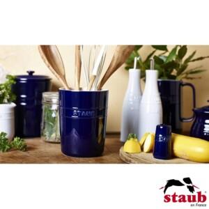 Porta Utensílios Staub Ceramic 11cm Azul Marinho