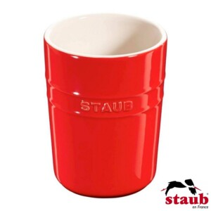 Porta Utensílios Staub Ceramic 11cm Cereja
