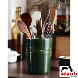 Porta Utensílios Staub Ceramic 11cm Verde Basil