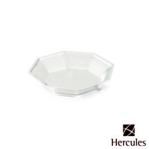 Prato para Servir Oitavado de Prata diam.18x2,9cm Hercules